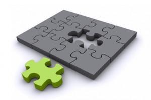 Externalización de proyectos móviles completa puzzle de tu empresa