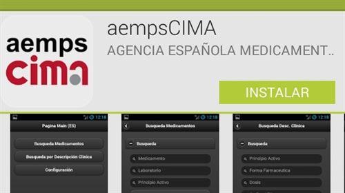 aempsCIMA desarrollo de aplicaciones de salud