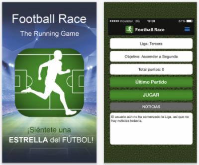 Caso de éxito de Yeeply - Football Race
