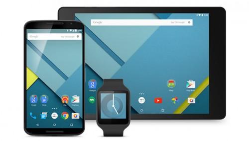 Android 5.0 Lollipop, Nexus preview