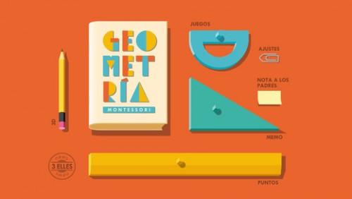 geometría montessori aplicaciones móviles educativas