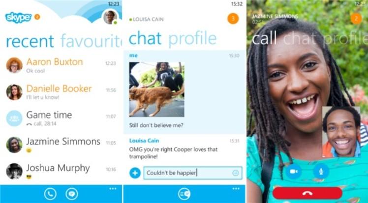 skype chat profile