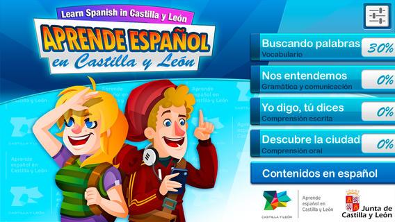 aprende español castilla y león