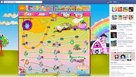 Desarrollo de aplicaciones web - Candy Crush