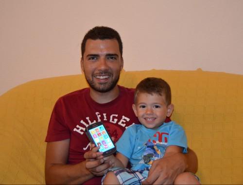 Daniel Martínez creador de la app