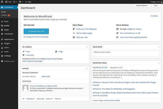 desarrollo de aplicaciones web - wordpress
