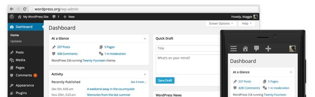 web app wordpress