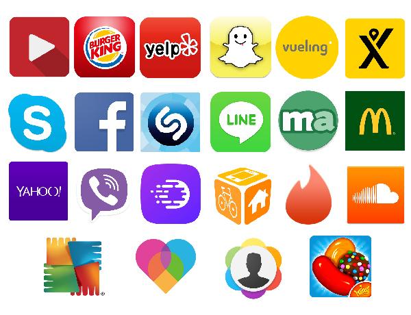 Diseño de apps - colores app icon