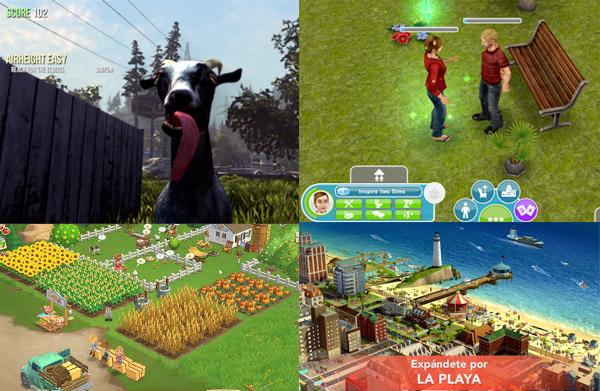 crear juegos para móvil-Géneros de app juegos - Simulación