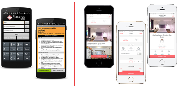 tipografía en diseño de apps 2012 vs 2016