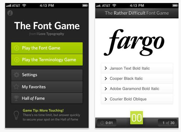 Diseño de apps - Tipografía