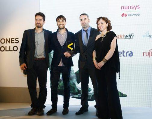 Yeeply, expertos en desarrollo de apps, Premio Mejor Empresa Joven/Emprendedor
