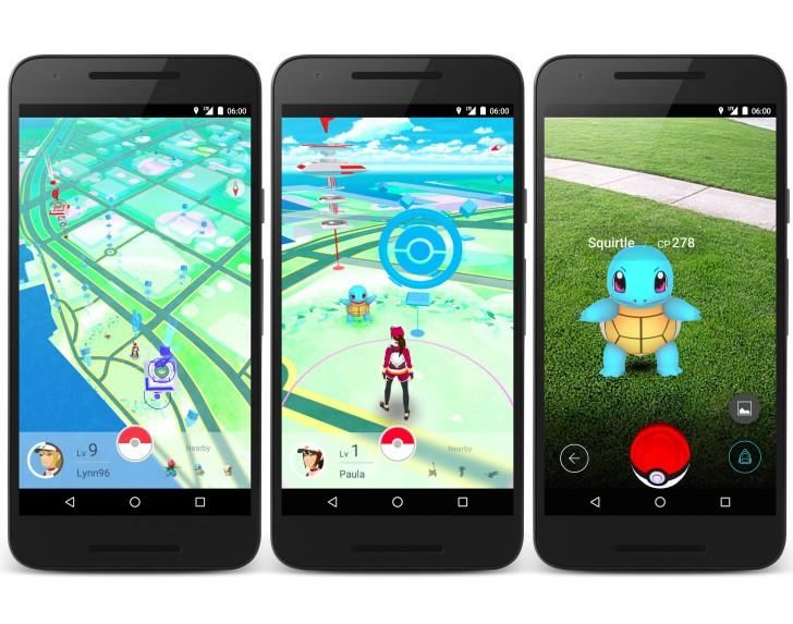 crear una app como pokemon go