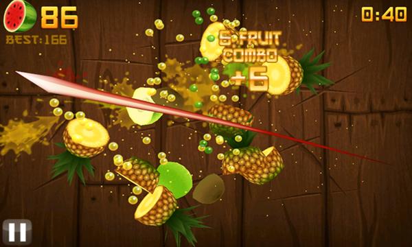 desarrollo de juegos fruit ninja