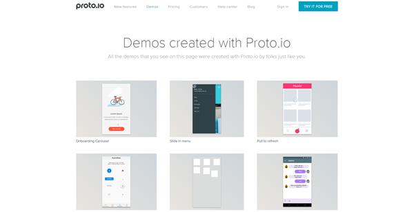 proto.io Desarrollo Web