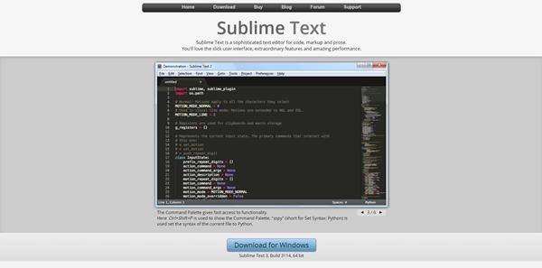 sublimeText Desarrollo Web