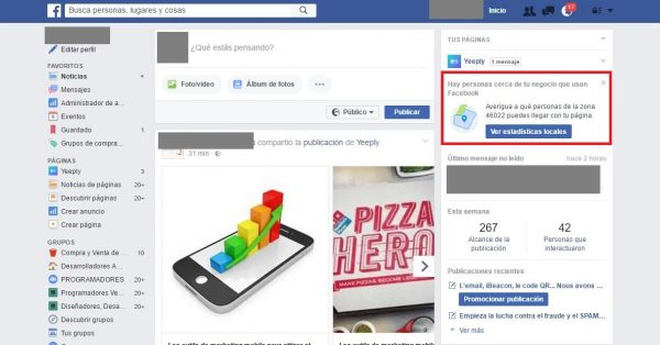 marketing móvil facebook