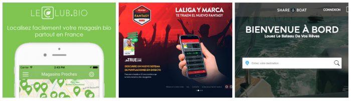 España, programación de aplicaciones de calidad