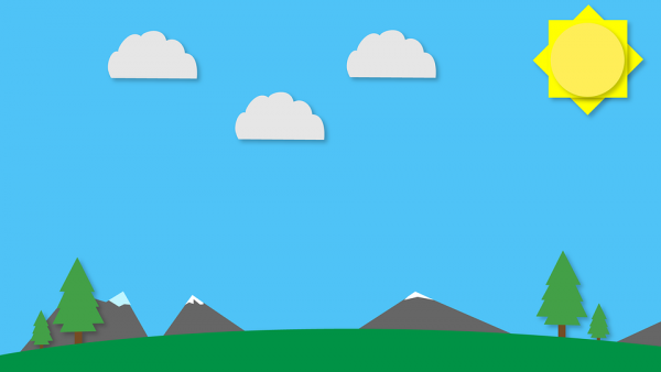 cómo diseñar una página web flat design