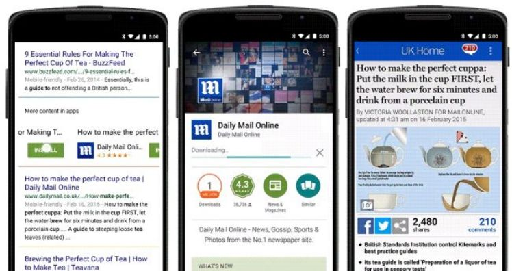 Deep Linking Android