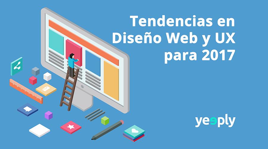 Tendencias en Diseño Web y UX para 2017