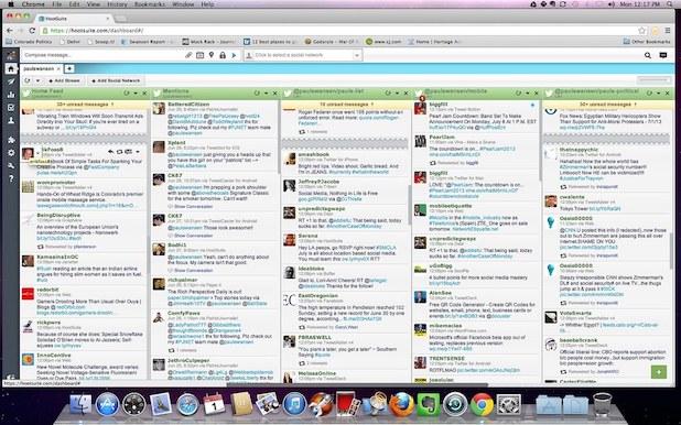 app para empresas para redes sociales - hootsuite