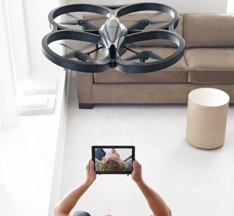 Parrot AR drone - aplicaciones para drones