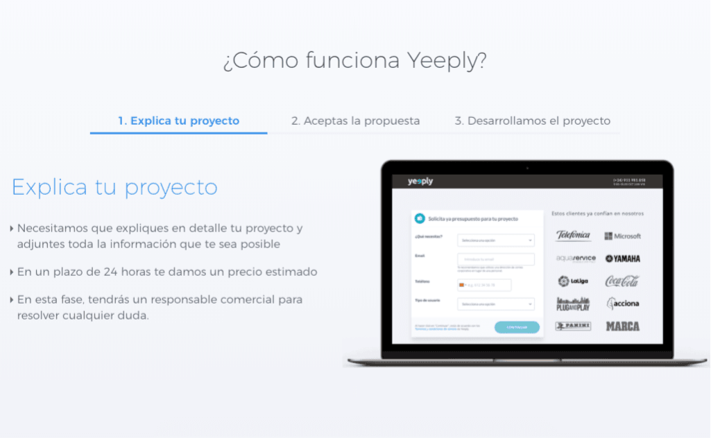 Nueva web Yeeply