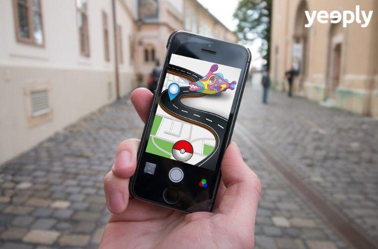 crear juegos para movil como pokemon go