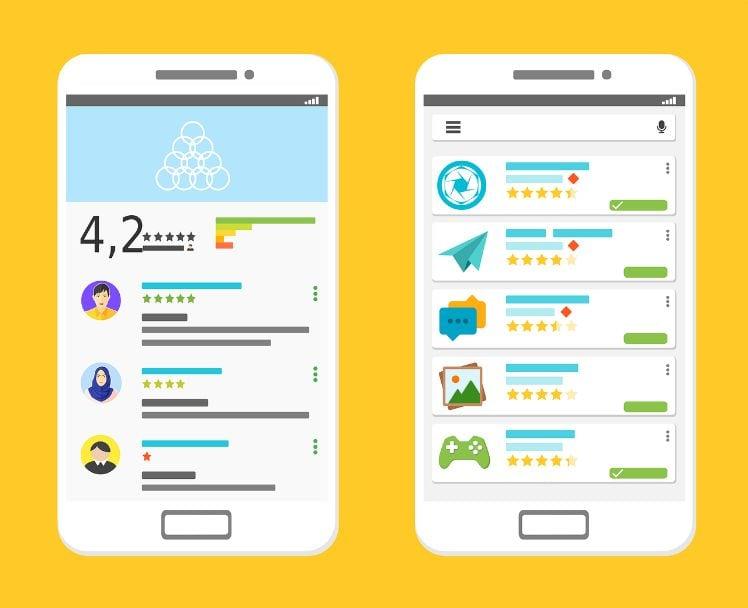 reseña app store- mobile app marketing