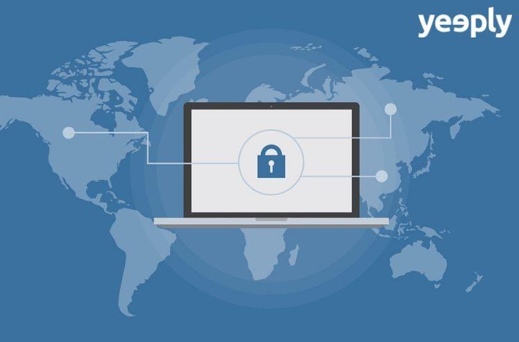 candado seguridad computador - ciberseguridad
