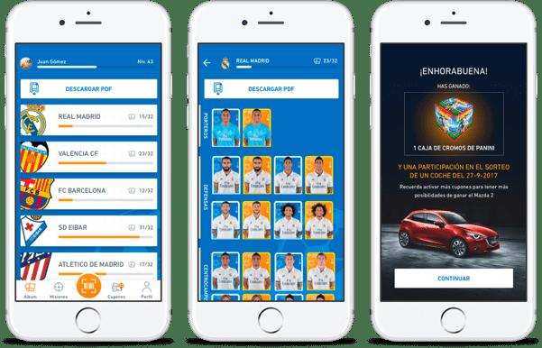smartphones con app