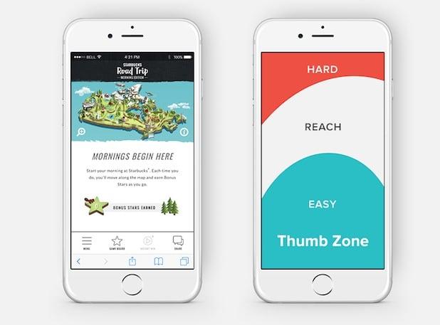 como diseñar una pagina web para mobile