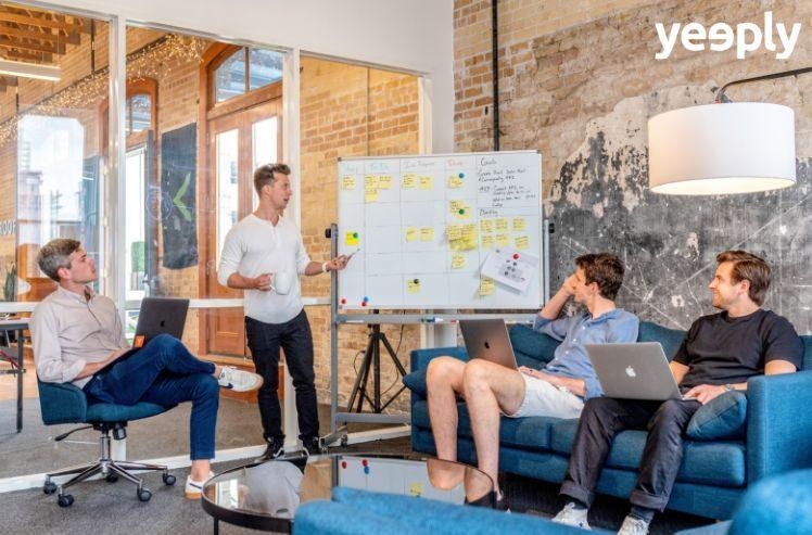 reunion de brainstorming- plan de marketing internacional