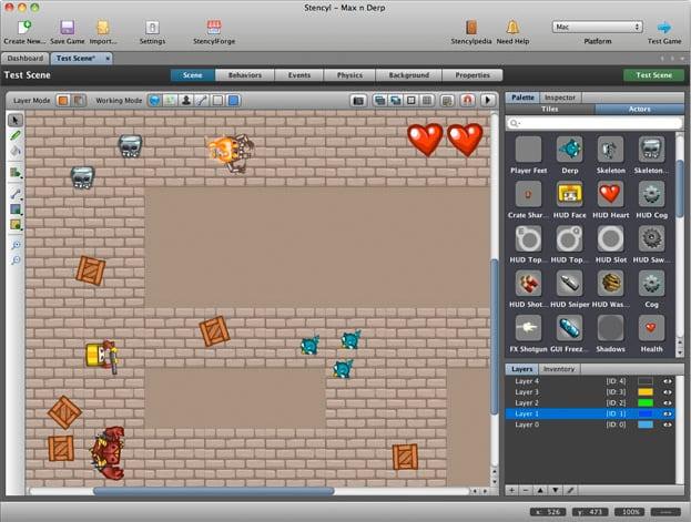 como crear juegos para android con stencyl