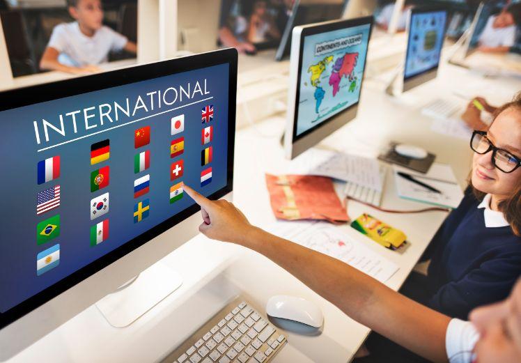 web internacional