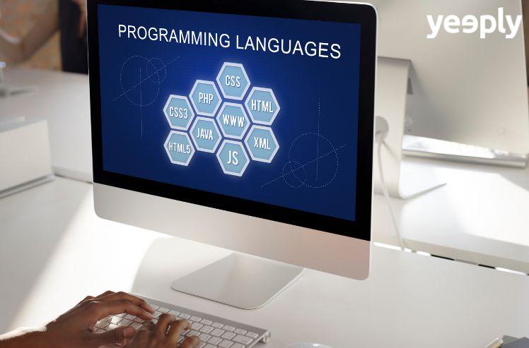 Lenguajes de programación más usados según el tipo de desarrollo