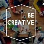 equipo creativo trabajando