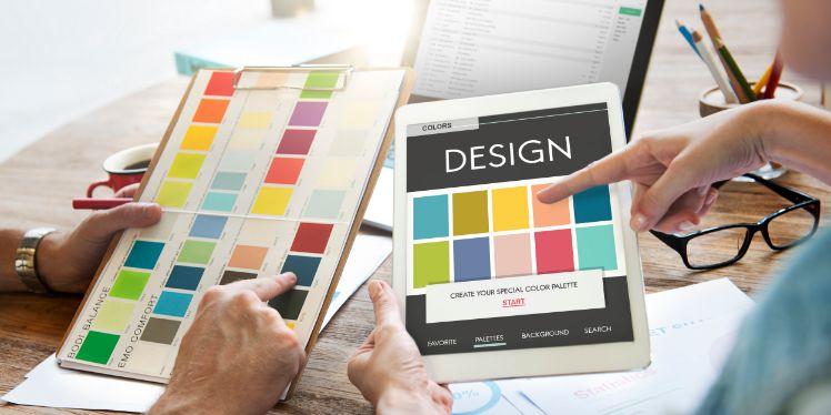 colores para el layout de una web