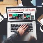 portatil con design- diseno web responsive