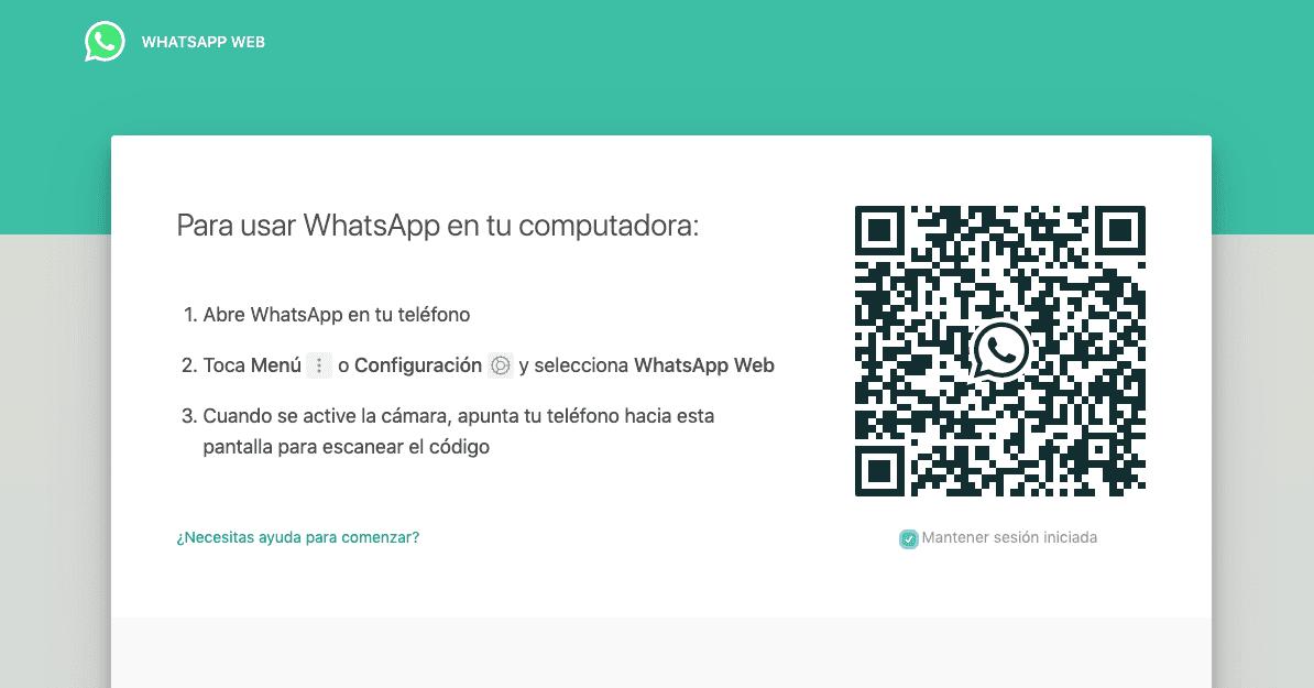 crear web app - ejemplo whatsapp web