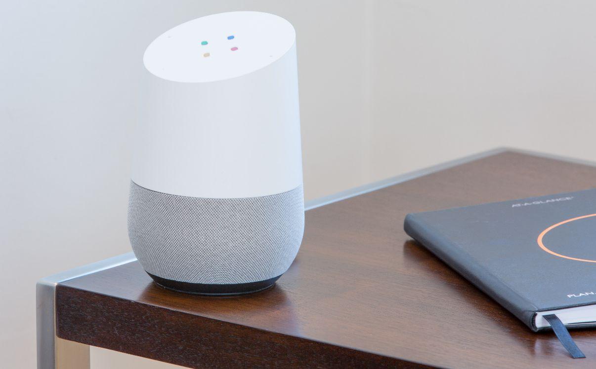 Google Home asistente de voz
