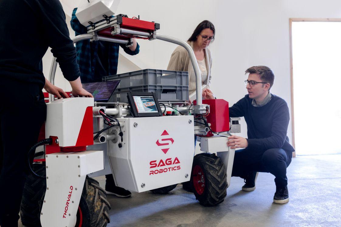 equipo de ingeniería robótica