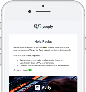 newsletter yeeply