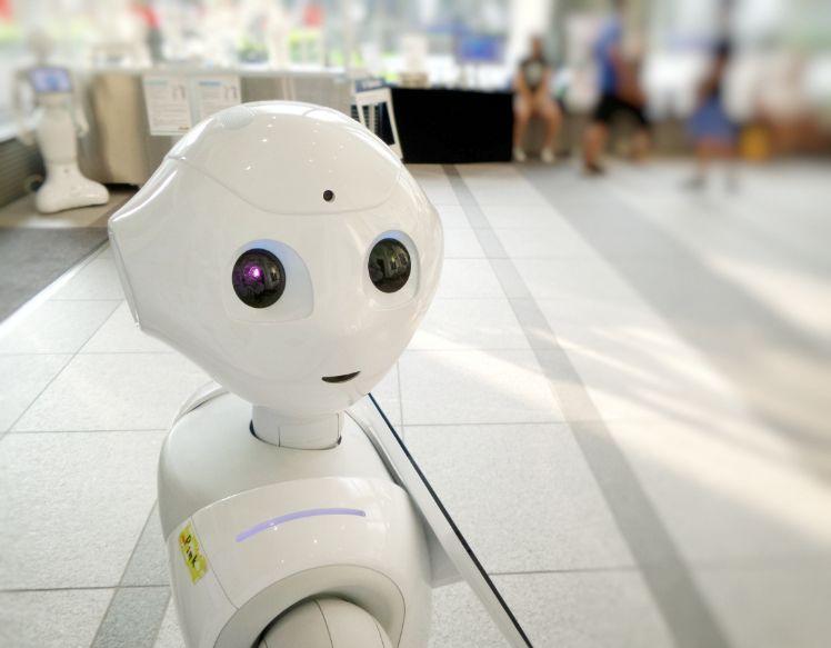 el robot asistente pepper