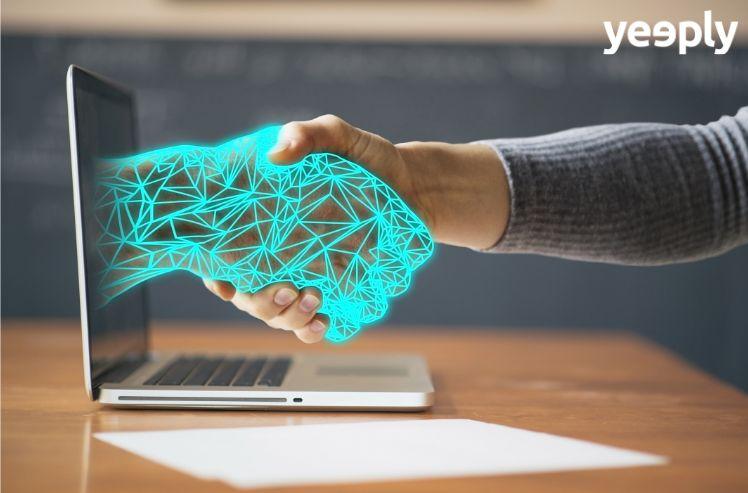tecnología y humano unidos