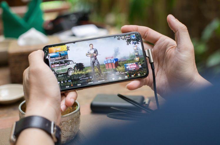 una app de juego en un movil